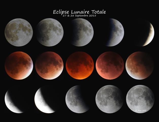 Eclipse Lunaire Totale 27 & 28 Septenbre 2015
