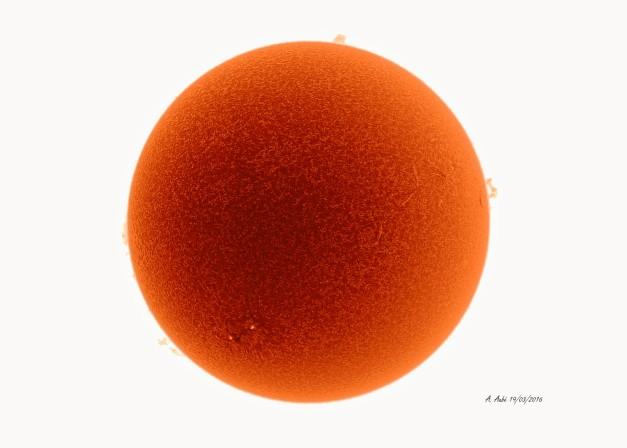 19 Mars 2016 inverse Ha 656.3